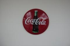 Coca-Cola 12'/16' Metal Disc Sign